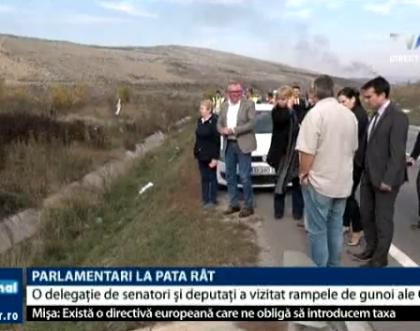 TVR: Delegație parlamentară la Pata Rât