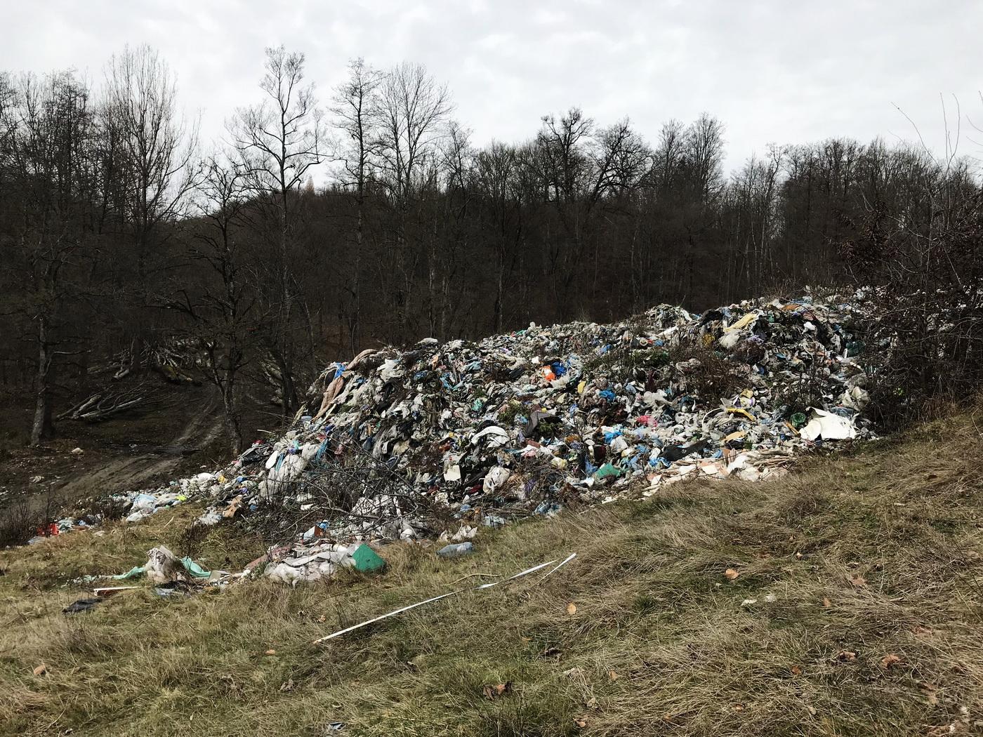 Un dezastru care nu poate fi oprit. Parlamentari USR au vizitat groapa de gunoi de la Măldărești