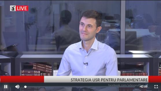 Cornel Zainea și Alexandru Moldovan despre strategia USR