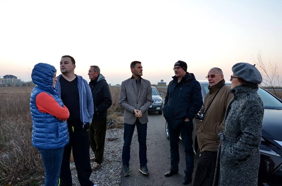 Întâlnire cu locuitorii din Corbeanca