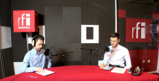 Interviu la Radio RFI România privind problema deșeurilor
