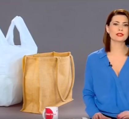 Declarație preluată de Antena1 privind interzicerea pungilor din plastic