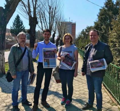 Întâlnire cu cetățenii din Măgurele și Jilava