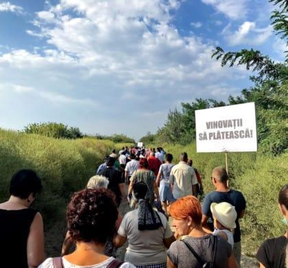 Dezastru ecologic cauzat de depozitul de deșeuri din Vidra