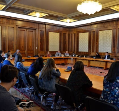 Parlamentul României deschis liceenilor