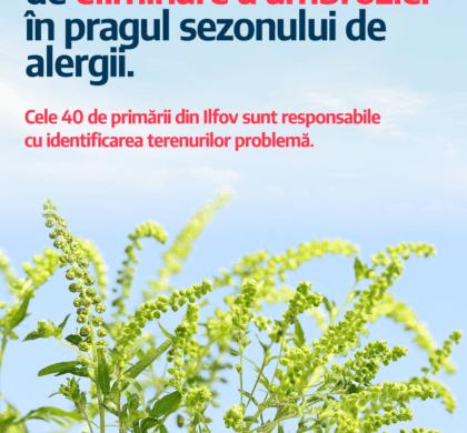 Începe sezonul alergiilor cauzate de ambrozie. Care e stadiul măsurilor de prevenție în Ilfov