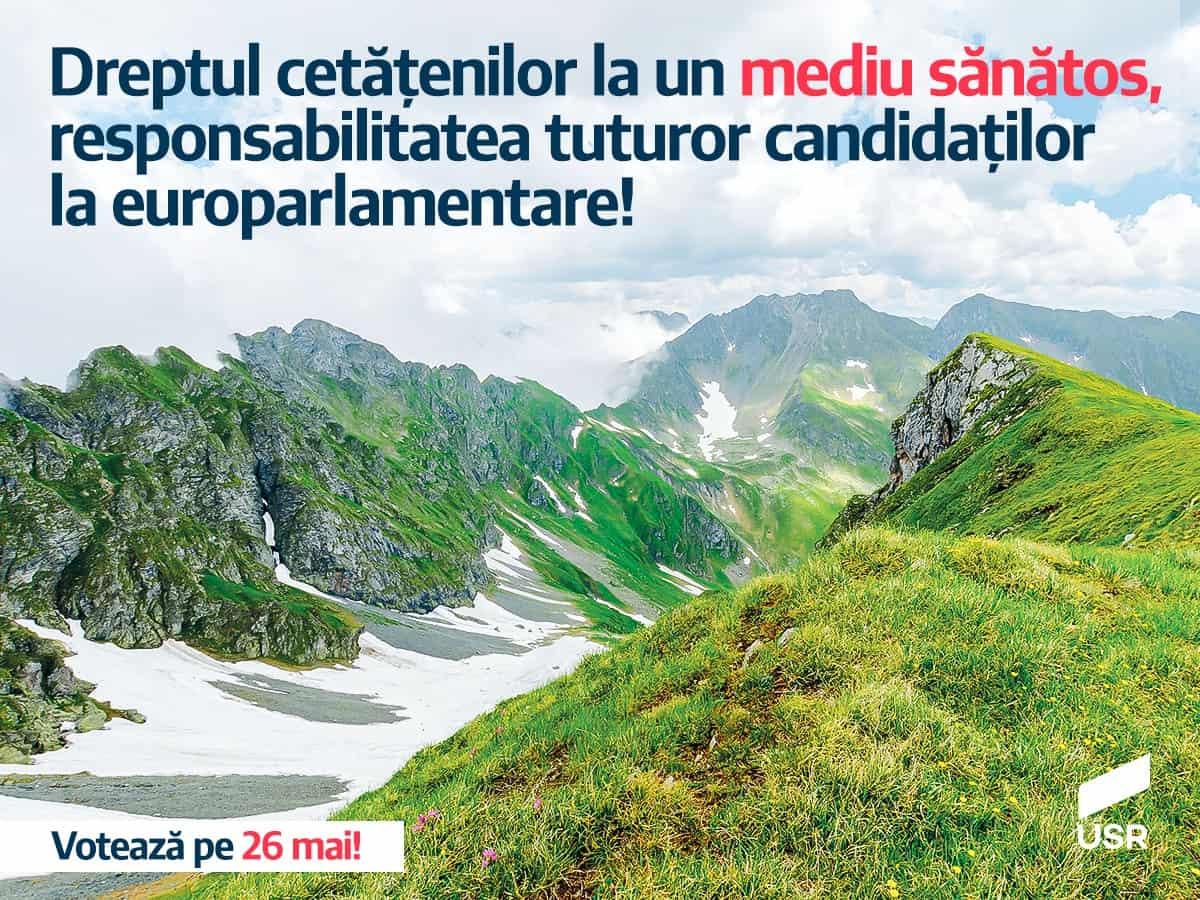 Scrisoare deschisă: Dreptul cetățenilor la un mediu sănătos, responsabilitatea tuturor candidaților la europarlamentare