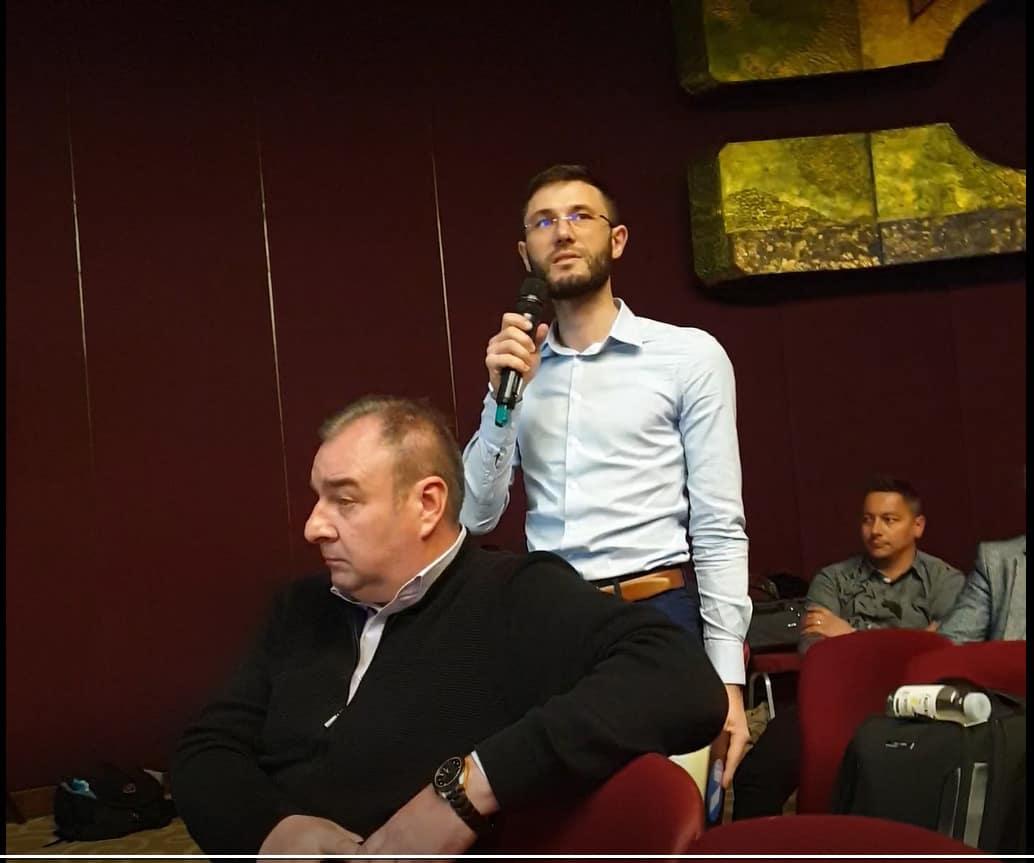 Intervenție la dezbaterea asupra Planului Județean de Gestionare a Deșeurilor pentru județul Ilfov
