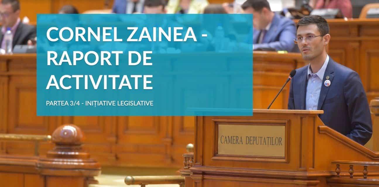 Raport de activitate parlamentară